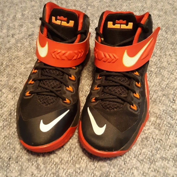 nike lebron james Shoes   Black And Red